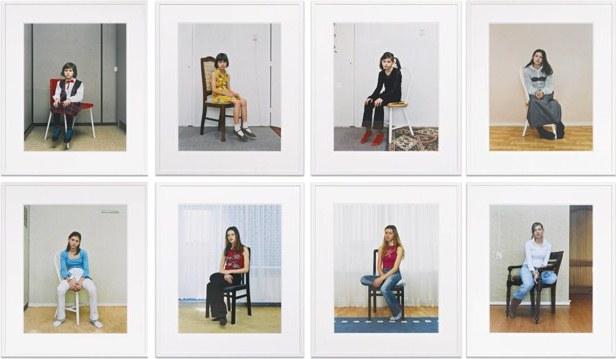 Rineke Dijkstra-Almerisa, Asylum Center, Leiden, The Netherlands [Eight Works]-2007