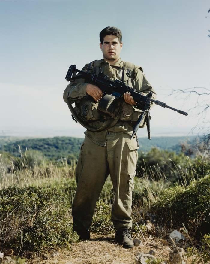 Rineke Dijkstra-Tamir Golani Brigade Elyacim Israel May 26 1999-2002