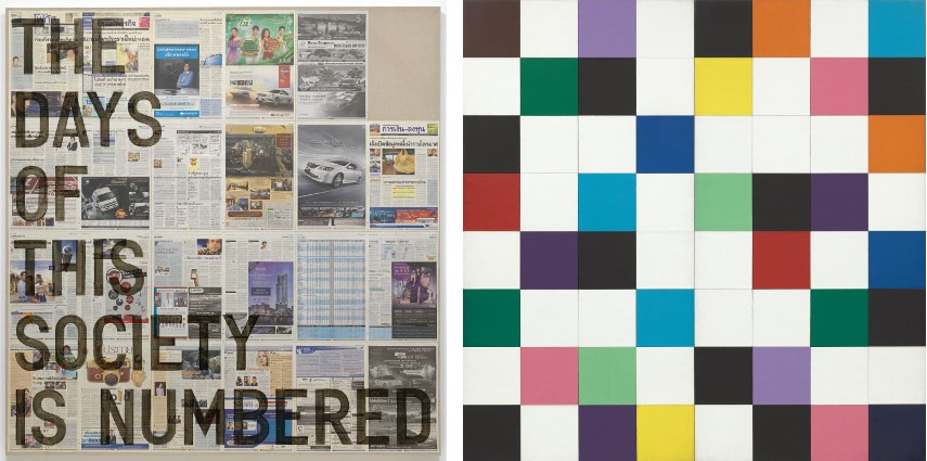 Rirkrit Tiravanija (Thai, born Argentina 1961) untitled and Ellsworth Kelly (American, 1923–2015) Colors for a Large Wall 1951