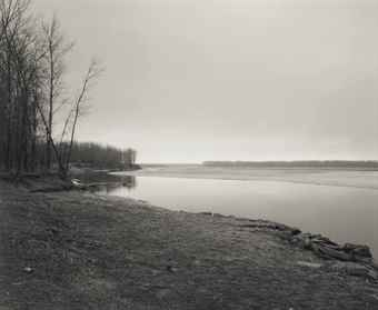 Robert Adams-Missouri River, Clay County, South Dakota-1977