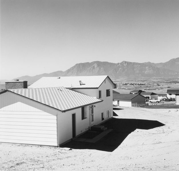 Robert Adams - Newly completed tract house, Colorado Springs, Colorado - 1968 at parisphoto in france