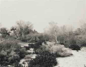 Robert Adams-Santa Ana Wash, Next to Norton Air Force Base, San Bernardino County, California-1978