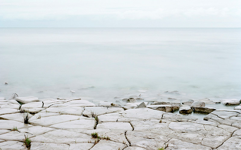 Robert Burley - Lake Huron, Craigleith, 2002