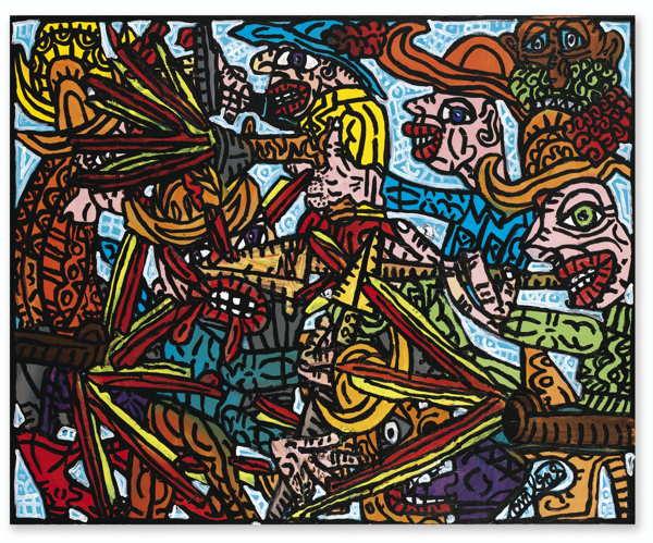 Robert Combas-Untitled-1995