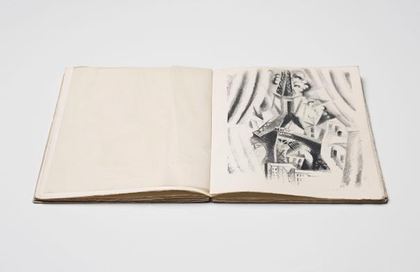 Robert Delaunay-Allo! Paris!-1926