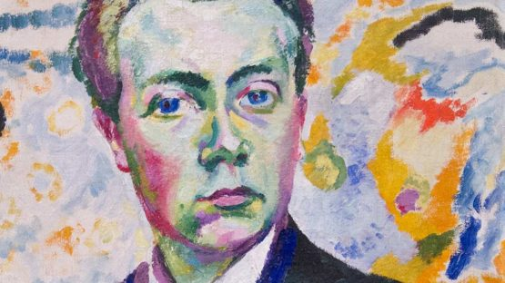 Robert Delaunay, Autoportrait (detail), 1905–06