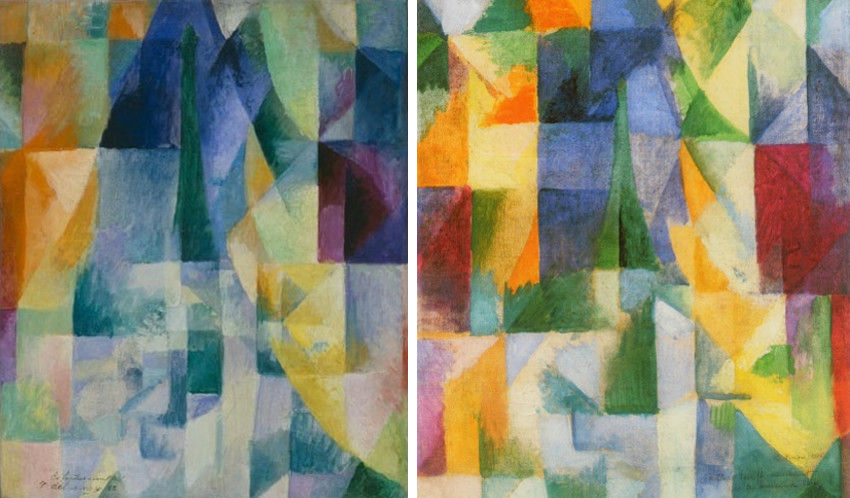 Robert Delaunay artist page contains a short article