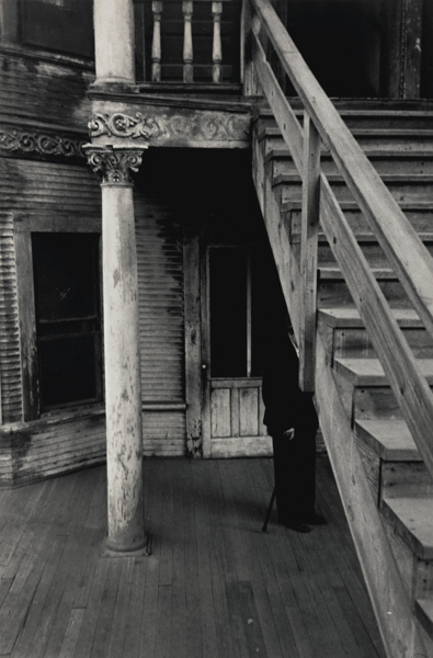 Robert Frank-Bunker Hill, Los Angeles (Rooming House)-1955
