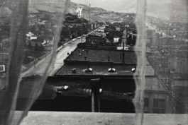 Robert Frank-Luncheonette - Butte, Montana (View From Hotel Window)-1956