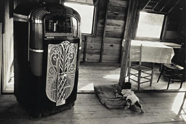 Robert Frank-Cafe - Beaufort, South Carolina-1956