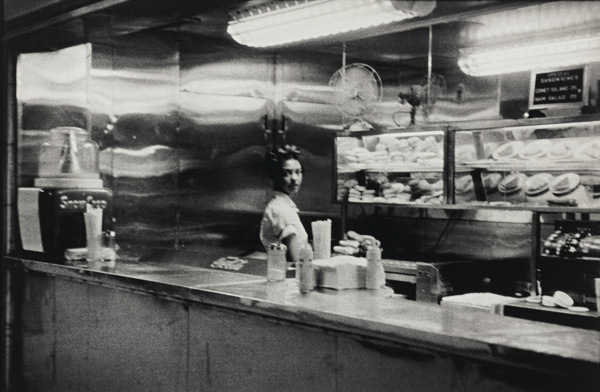 Robert Frank-Coffee Shop, Railway Station - Indianapolis-1955