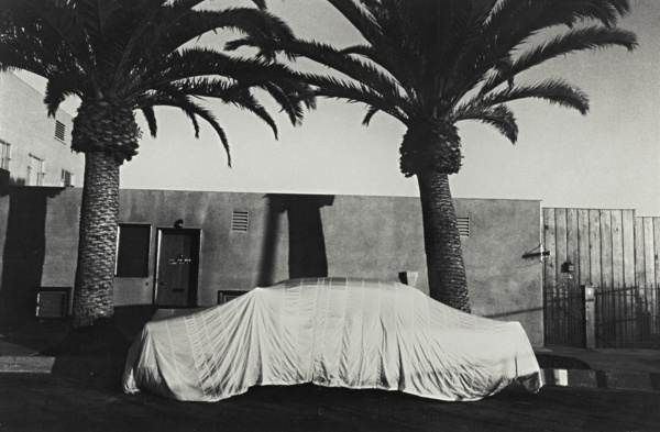 Robert Frank-Covered Car - Long Beach, California-1956