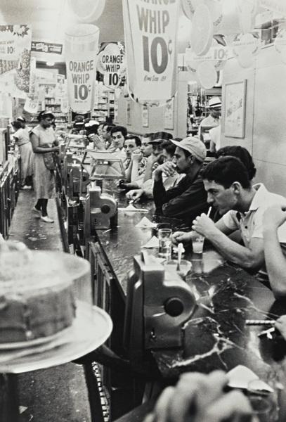 Robert Frank-Detroit (Drug Store)-1955