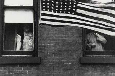 Robert Frank-Hoboken (Parade)-1955
