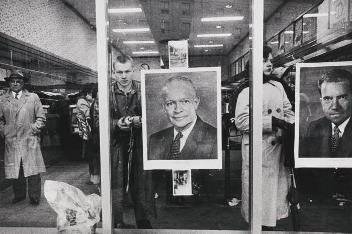Robert Frank-Inauguration Day (Pennsylvania Avenue Washington D. C.)-1957