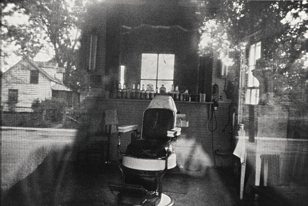 Robert Frank-Mcclellanville, S. C. (Barber Shop Through Screen Door)-1955