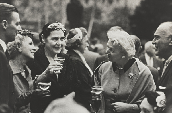 Robert Frank-Museum Of Modern Art - Nyc (Cocktail Party - New York City)-1955