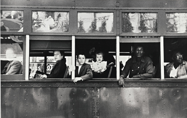 Robert Frank-New Orleans (Trolley)-1956