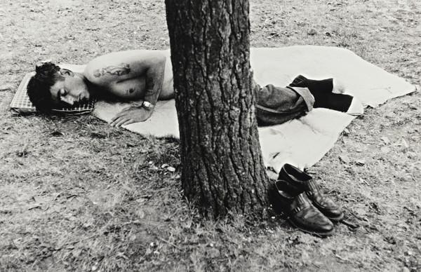 Robert Frank-Public Park - Cleveland, Ohio-1970