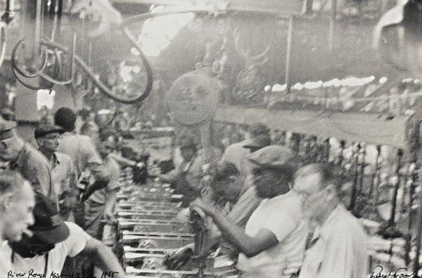 Robert Frank-River Rouge Assembly Line (Assembly Line - Detroit)-1955