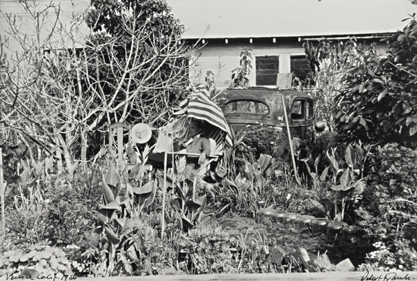 Robert Frank-Venice, Calif. (Backyard - Venice West, California)-1956