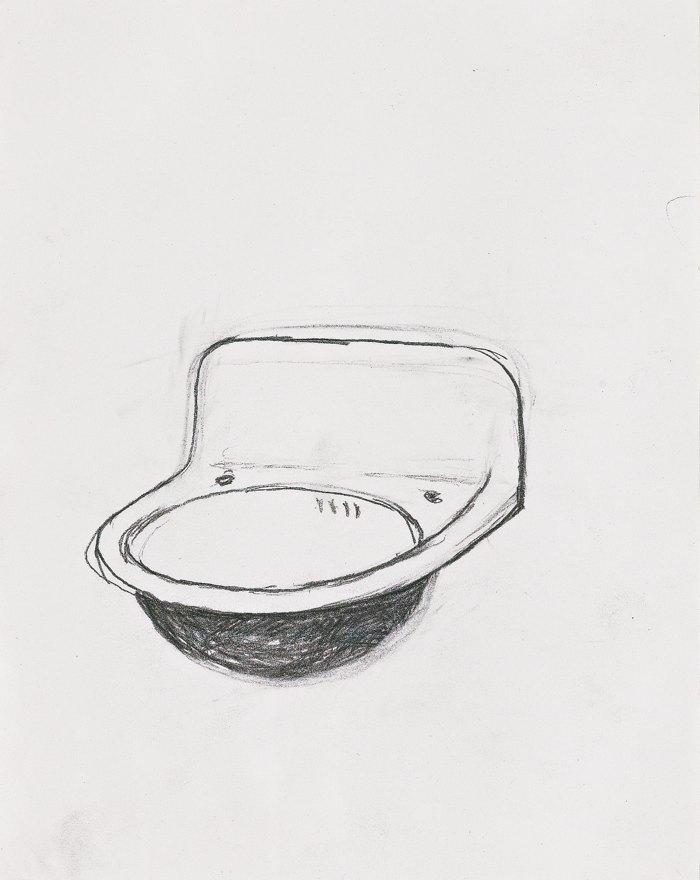 Robert Gober-Untitled (Sink)-1984