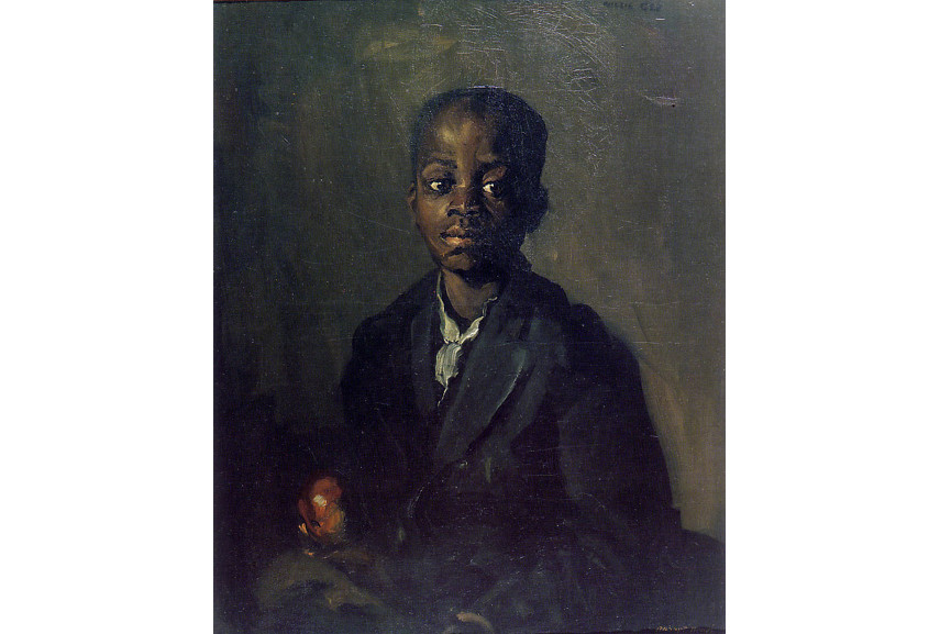 Robert Henri  -Portrait of Willie Gee, 1904 - Image via pinterestcom