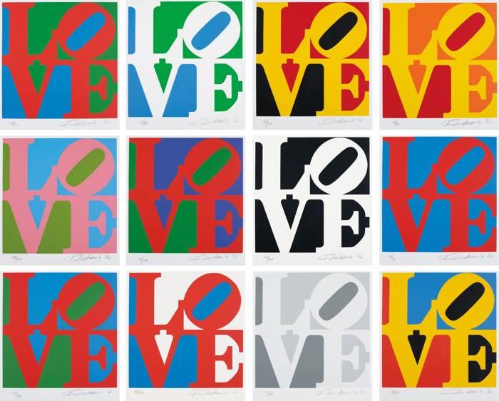 Robert Indiana-Book of Love-1996