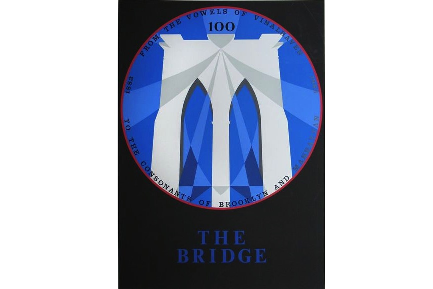 Robert Indiana - Brooklyn Bridge, New York, New York, 1983