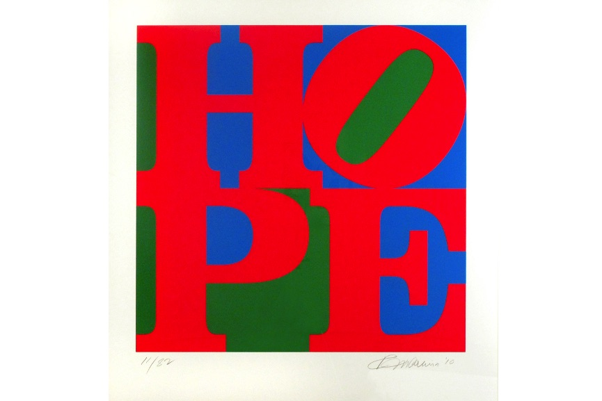 Classic HOPE (Red Blue Green), 2010