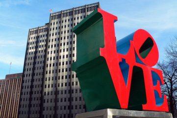 How The Robert Indiana Love Sculpture Won Hearts Worldwide