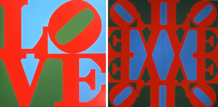 American Robert Indiana - The Great Love, 1966 - The Great Love society home 2013 Robert Indiana rights prints society works 2013 numbers contact