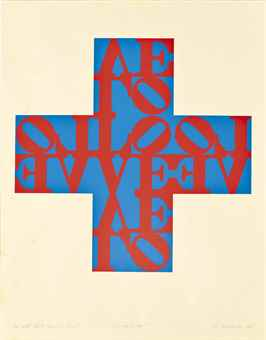 Robert Indiana-The Love Cross-1968