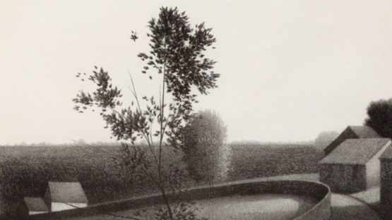 Robert Kipniss - Morning View, ca 1980 (detail)