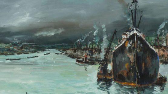 Robert L.P. Lavoine - Rouen (Detail)