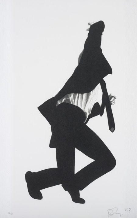 Robert Longo-Frank, from Men in the Cities-1993