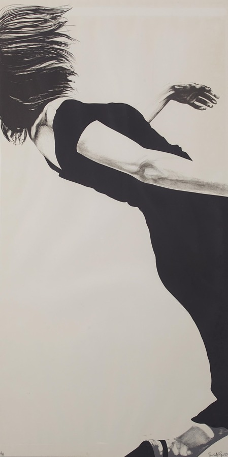 Robert Longo-Joanna, from Men in the Cities-1983