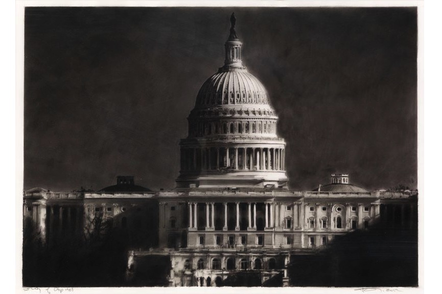 Robert Longo - Study of the Capitol
