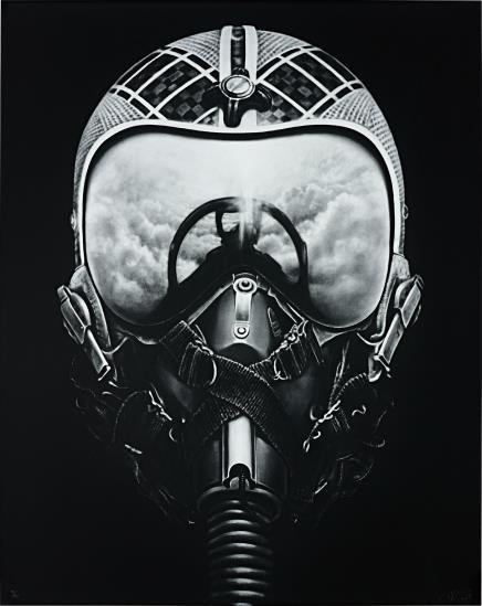 Robert Longo-Untitled (Iceman X)-2012