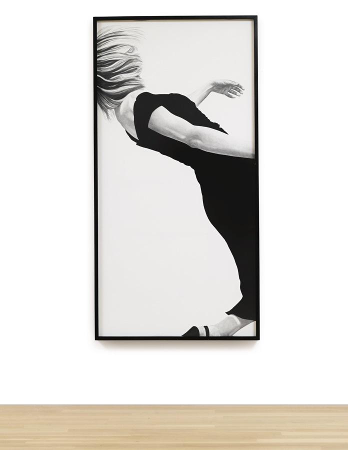 Robert Longo-Untitled (Jo)-1982