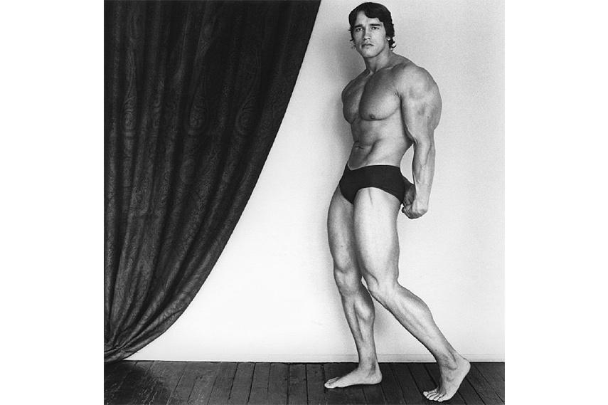 Robert Mapplethorpe - Arnold Schwarzenegger
