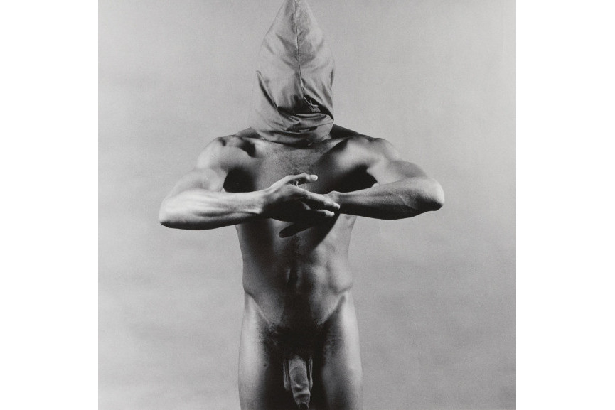 Robert Mapplethorpe - Hooded Man (From Portfolio Z), 1980