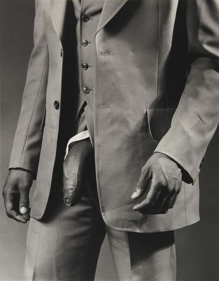Robert Mapplethorpe-Man In Polyester Suit-1980