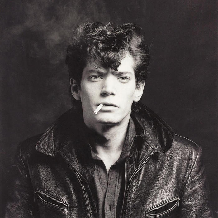 Robert Mapplethorpe-Self Portrait-1980