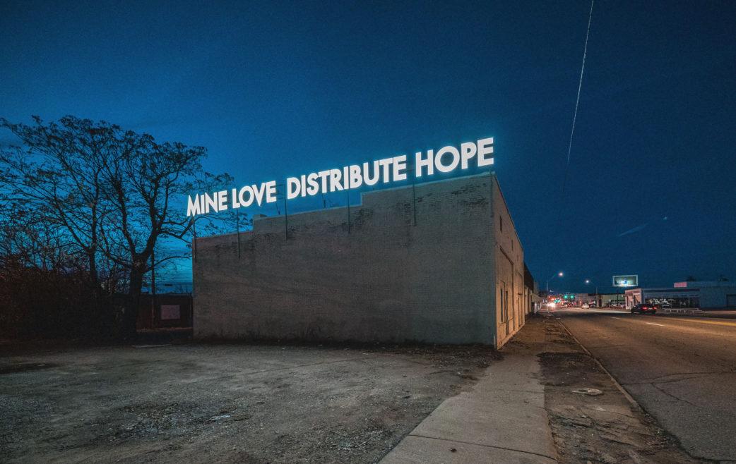 Robert Montgomery - Mine Love Distribute Hope by Justkids