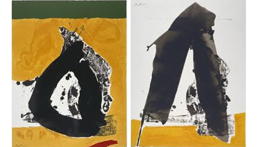 Robert Motherwell – open and use privacy terms / Robert Motherwell american New York paper London 1991, 2017