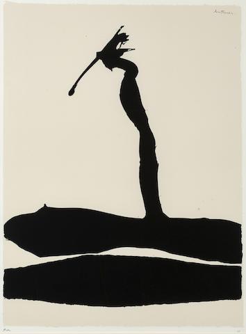Robert Motherwell-Africa #4, from African Suite-1970