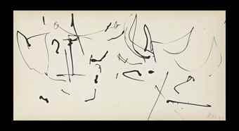 Robert Motherwell-Burning Bush-1951