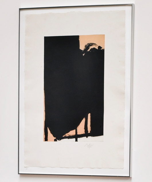 Robert Motherwell-Elegy Fragment II (Walker Art Center 360)-1985