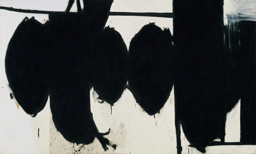Robert Motherwell - Elegy to the Spanish Republic no. 70